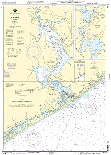 bapho/NOAA print-on-demand Diagramm New River – Jacksonville 18. Edition Modell: 11542 Samen