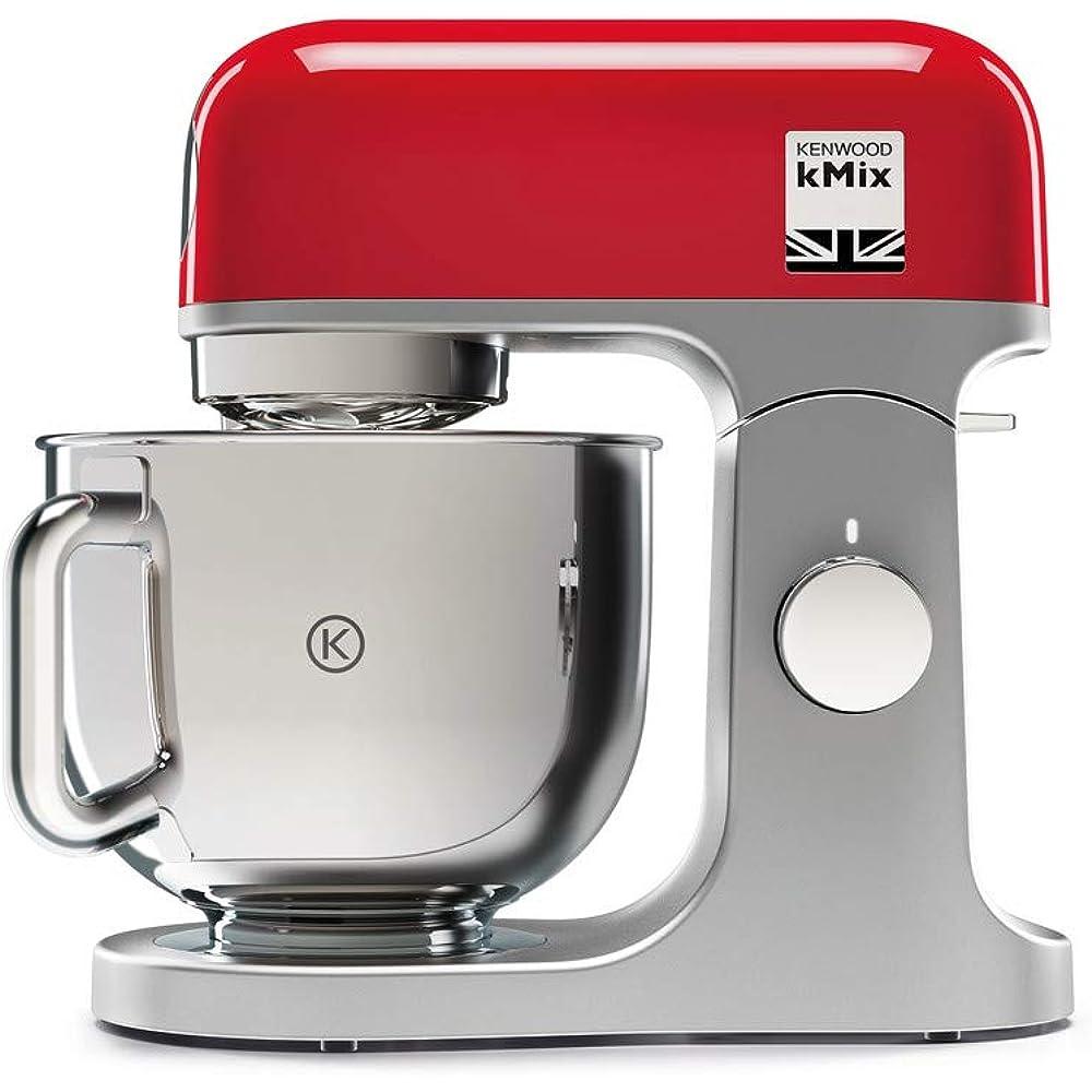kenwood , impastatrice planetaria kitchen machine,robot da cucina mixer, 1000 w, 5 litri kmix kmx750rd