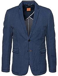 BOSS Orange Herren Leinen-Sakko | Beitz ( Regular Fit ) blau Größe 48