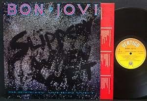 BON JOVI - SLIPPERY WHEN WET LP (10346)