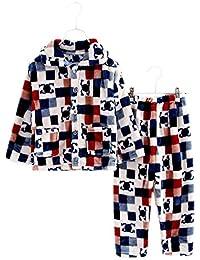 Flannel Niños pijama traje de baño suave Velvet Sleepwear Nightcloth, Spirit