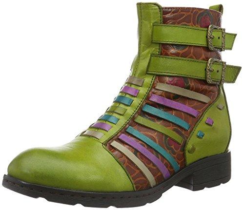 Laura VitaTILDE - Stivali a metà gamba con imbottitura pesante  Donna , Verde (Grün (VERT)), 39 EU
