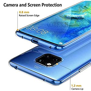 Bai and Kaka Back Cover Soft Slim Shockproof Back case for Huawei Mate 20 Pro