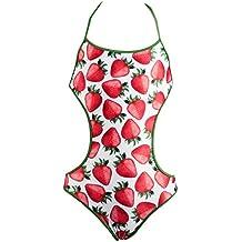 Red Point Beachwear, Infantil, Niña, Bañador niña, Trikini, Madu, Estampado figurativo
