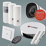 HD-Überwachungskamera mit Funk-Alarmanlage (Starterkit)