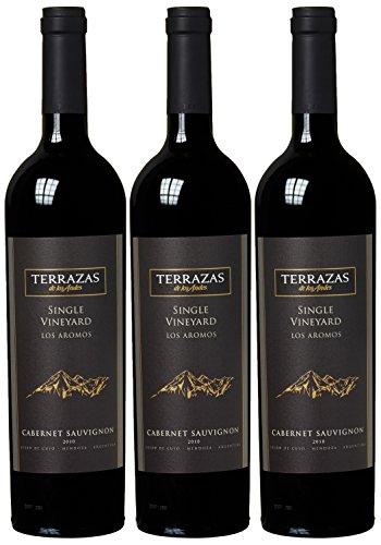 Terrazas des Andes Afincado Cabernet Sauvignon 2010  (3 x 0.75 l)