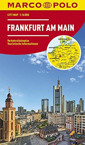 MARCO POLO Cityplan Frankfurt am Main 1:16.000 (MARCO POLO Citypläne)