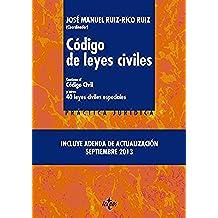 Código de leyes civiles: Contiene el Código Civil y otras 40 leyes civiles especiales (Derecho - Práctica Jurídica)