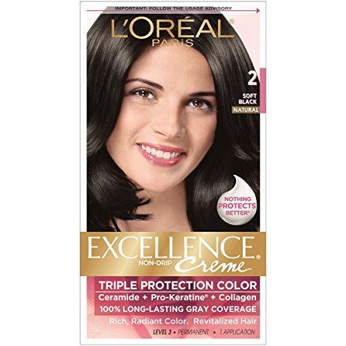 loreal crme colorante excellence crme triple protection enrichie en pro kratine - Coloration Excellence
