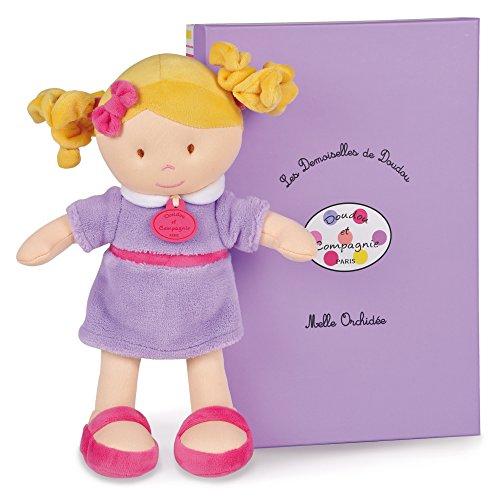 Dou Dou et Compagnie Little Miss Orchid Doll, Lavender, One Size