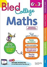 Bled Maths Collège par Josyane Curel