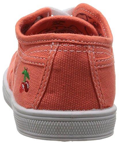 Little Cerise 02 Basic Sneaker Little M盲dchen Mandarine Orange Cerise OwfrxgqO