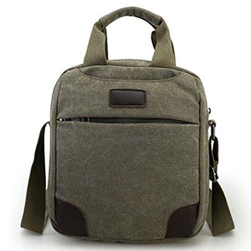 JUND 2018 Neu Stil Herren Canvas Handtasche Vintage Schultertasche Lässig Trendy Kuriertaschen Outdoor Reise Henkel Messenger Bag
