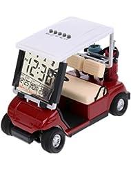Gazechimp Écran LCD Mini Panier De Golf Horloge Souvenir Cadeau De Golfeur Nouveauté