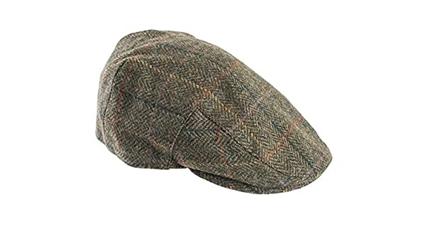 d99ddd32 Barbour Moons Tweed Cap - Olive Plaid: Amazon.co.uk: Clothing