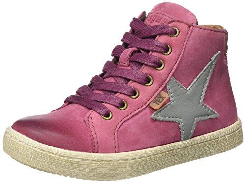 Bisgaard Unisex-Kinder Schnürschuhe Hohe Sneaker, Pink (4021 Pink), 35 EU