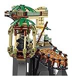 LEGO Ninjago 70608 - Meister Wu's Wasser-Fall...Vergleich