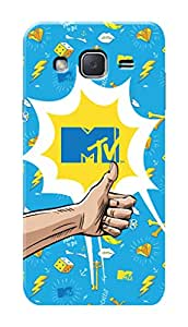 MTV Gone Case Mobile Cover for Samsung Galaxy J2