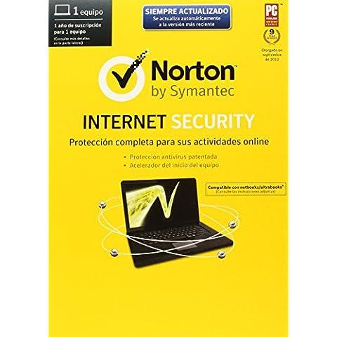 Norton Internet Security 2014 - Software De Seguridad, 1 Usuario