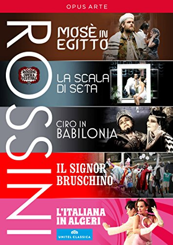 Rossini Festival Collection [5 DVDs]