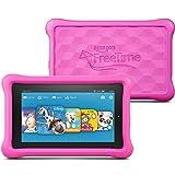 Fire Kids Edition, 17,8 cm (7 Zoll) Display, WLAN, 8 GB, Pink Kindgerechte Schutzhülle