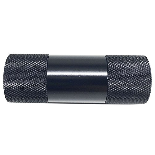 Spespo Metal de aluminio Pollen Press Presser compresor hierba Grinder Tabaco Molinillo de especias trituradora–Barra de labios diseño de 6,1x 2cm