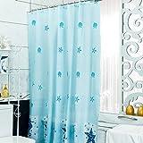 LFF- Nordic Wasserdicht Warm Gepolsterte Duschvorhang Badezimmer Umweltschutz Schimmel Vorhang Geruchsfreie Duschvorhänge (Größe : 220X200cm)