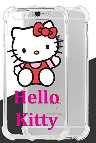 Hello Kitty ultraklar Hybrid Fall Lassen & stoßfest für iPhone 7(4,7in)-Retail Verpackung, PCZKT4