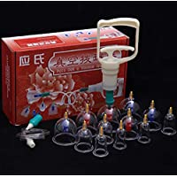 BG-YUFI YF Schröpfen Glas, 12 Dosen von Dicken Magnetischen Magnetischen Vakuum Schröpfen Gerät Luftpumpe Typ... preisvergleich bei billige-tabletten.eu