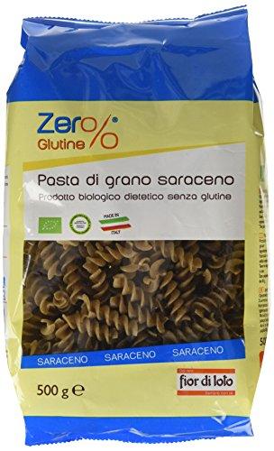 Zer% Glutine Fusilli di Grano Saraceno - 500 gr