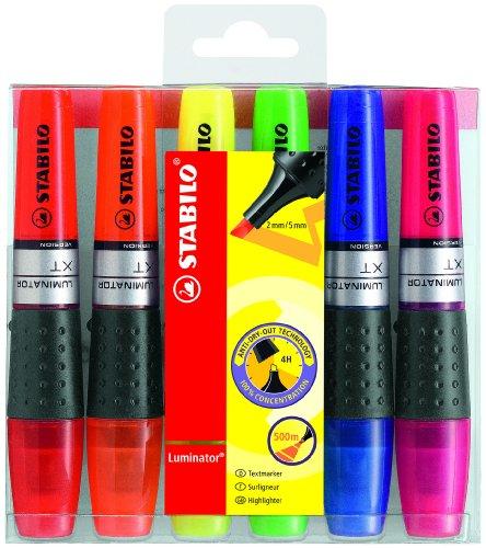 stabilo-luminator-pochette-de-6-surligneurs-a-encre-liquide-coloris-assortis