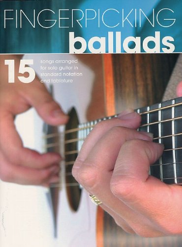 Fingerpicking Ballads. Partitions pour Tablature Guitare