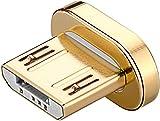 Goobay Magnet-Stecker Ersatzstecker Micro USB für Magnetisches Ladekabel