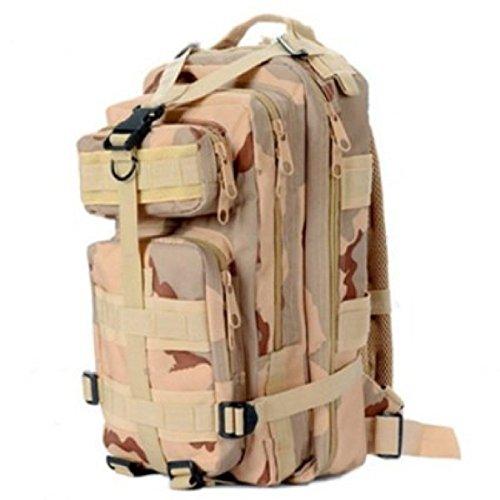 Outdoor Sport Tarnung Rucksack Militär Klettern Wandern Tasche 3P Taktisch Rucksack Camouflage