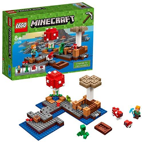 LEGO Minecraft - Isla Champiñón, Juguete Creativo Basado en el VideoJuego (21129)