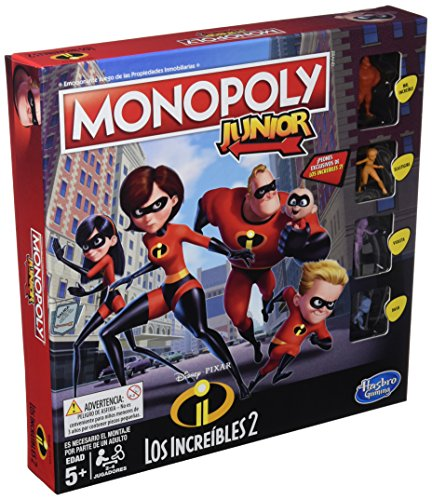 Monopoly- Junior Increibles Hasbro E1781105