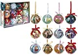 12 Days Of Christmas 75mm Boxed Bauble Set