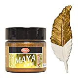 Viva Decor Maya Gold -Bronze- 45ml Metallglanz Farbe, Metallic Effekt