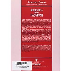 Semiotica delle passioni. Saggi di analisi semanti