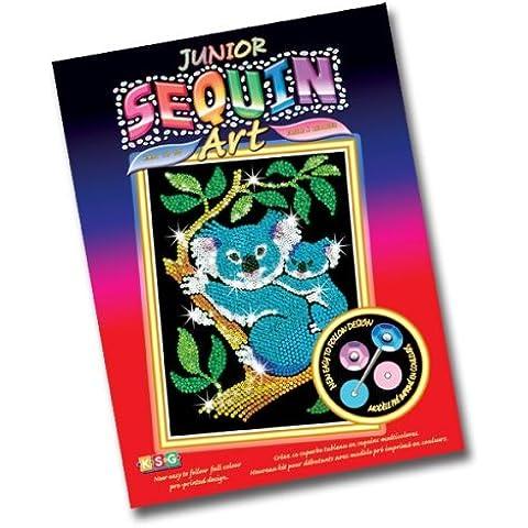 KSG - Set per creare un quadro di paillettes, soggetto: Koala