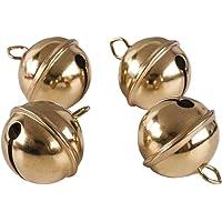 Rayher Clochettes en métal Doré à˜ 29 mm 4 pièces