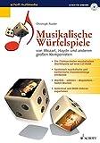 Musikalische Würfelspiele, 1 CD-ROM ... von Mozart, Haydn und anderen großen Komponisten. Für Windows 95/98. Aus Tabellen werden Takt-Kombinationen gewürfelt, die so klingen, als wären sie ganz individuell komponiert [import allemand]