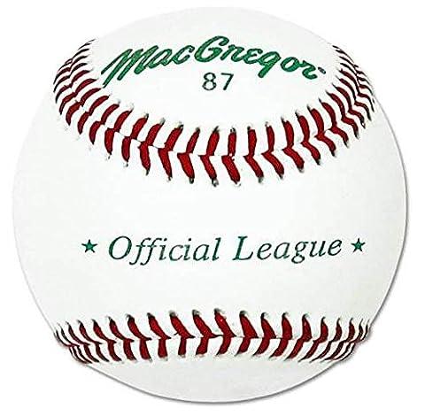 MacGregor 87 Official Split Baseball, Leather (One