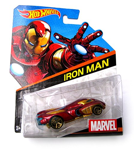 Hot Wheels Marvel Iron Man 1:64