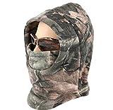Acido ® militare tattico freddo-Passamontagna in pile con cappuccio, per Softair-Maschera da Ninja,...