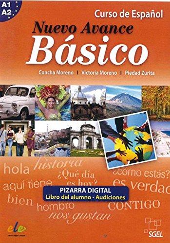 Preisvergleich Produktbild Nuevo Avance Básico: Curso de Español / Pizarra digital –  Material für Whiteboard und PC