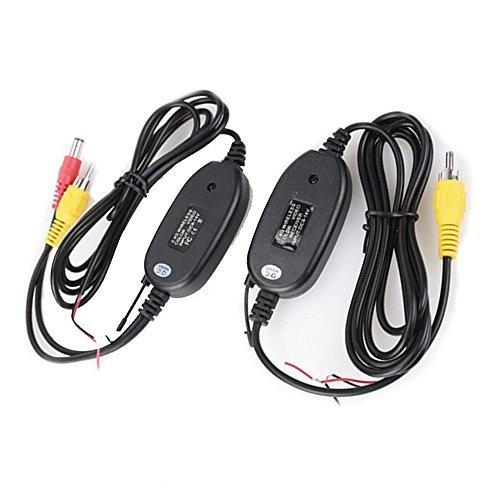 2,4 GHz Sans Fil Vidéo Transmetteur et Récepteur pour la Voiture Caméra de Recul Vue Arrière Inversée Moniteur Parking System