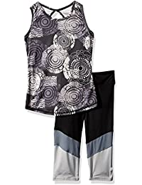 12bfcc270b6a1 Gaiam Girls  Tribal Medallion Tank Top and Capri Set