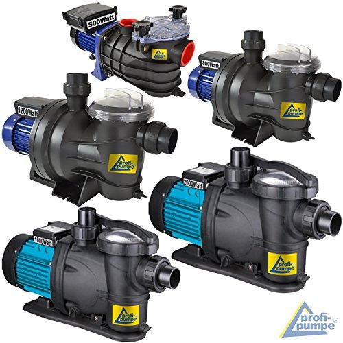 SONDERANGEBOT! Schwimmbadpumpe POOL-STAR-250/370/500/550/800/1100/1200/1600/2000, Poolpumpe - Filterpumpe Schwimmbad / Swimmingpool, energiesparsam zuverlässig und effektiv, leichte Filterreinigung (POOL-STAR 500)