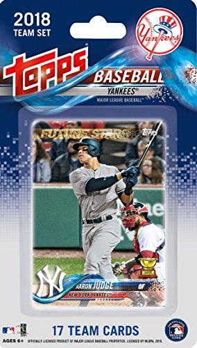 Topps New York Yankees 2018 Fabrik 17-Karte Limited Edition Team-Set mit Aaron Richter, Gary Sanchez, Giancarlo Stanton und Anderen Sealed! - Baseball-karten Topps